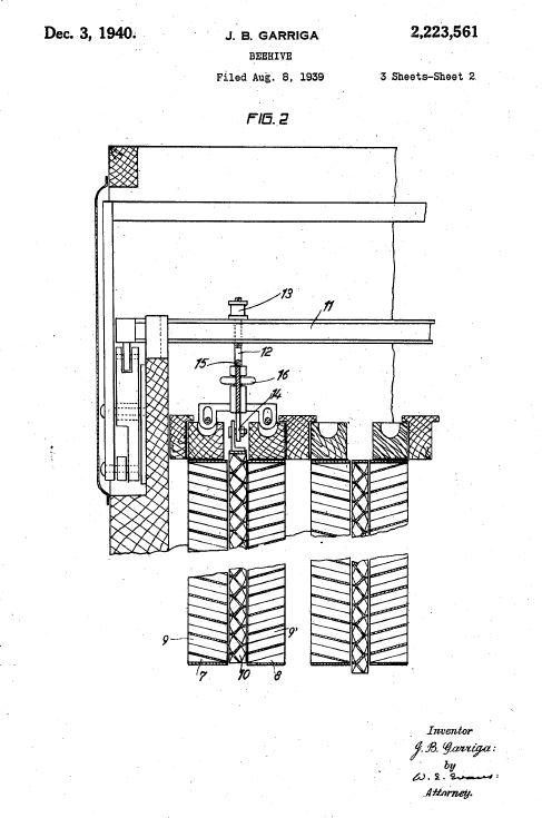 конструкция улья в вытекающим медом