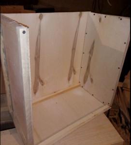 сборка пчелиной ловушки, боковая стенка