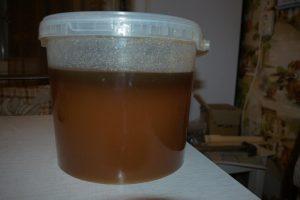 мед расслоился