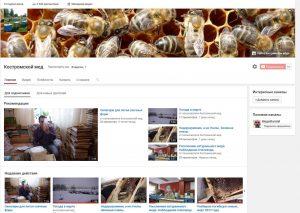 видеоблог пчеловода